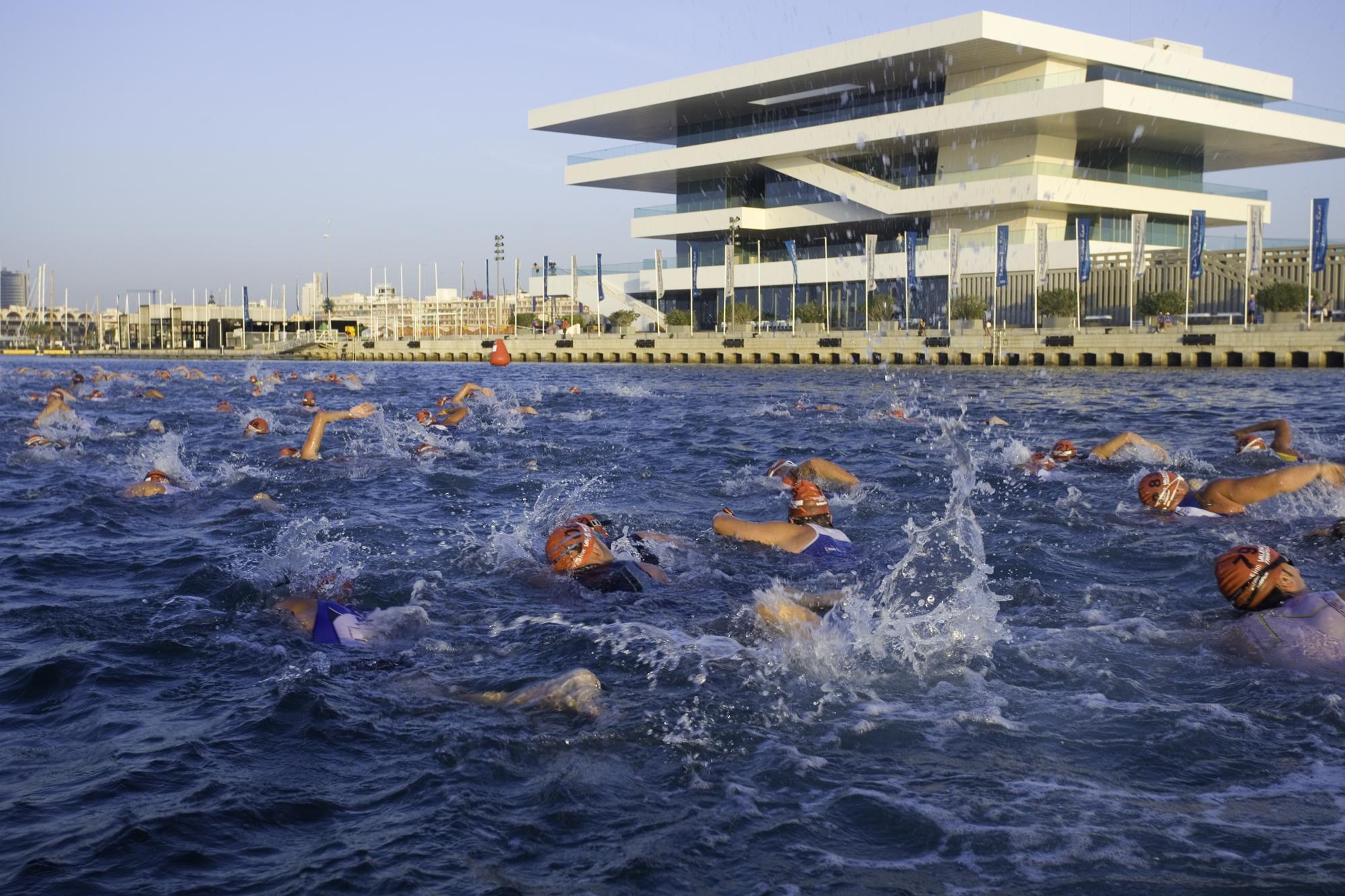 ¡Puerto de Sagunto estrena triatlón!