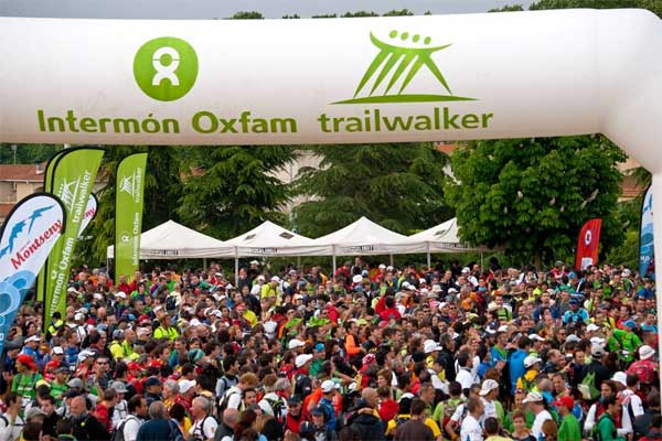 Intermón Oxfam Trailwalker 2012