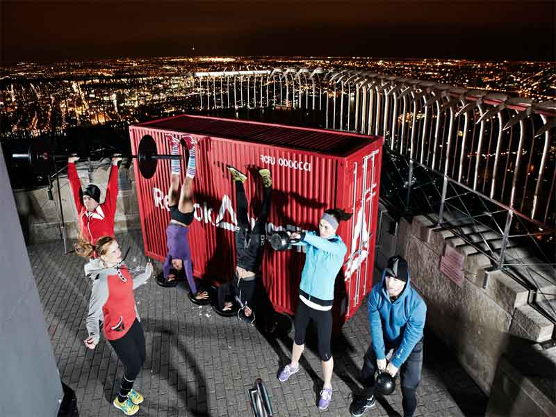 CrossFit en el Empire State Building