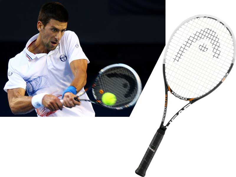 Consigue la raqueta del número uno del mundo del tenis