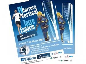 Mañana se celebra la Carrera Vertical Torre Espacio-Abanderado