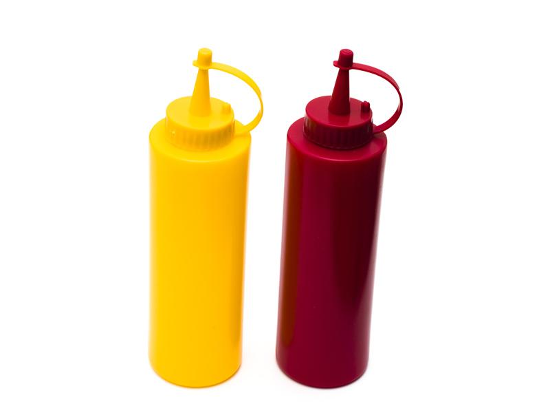Mostaza versus Ketchup