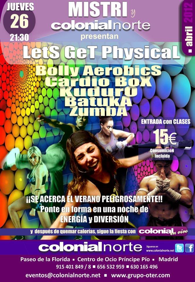¡Ponte en forma con 'Lets Get Physical'!