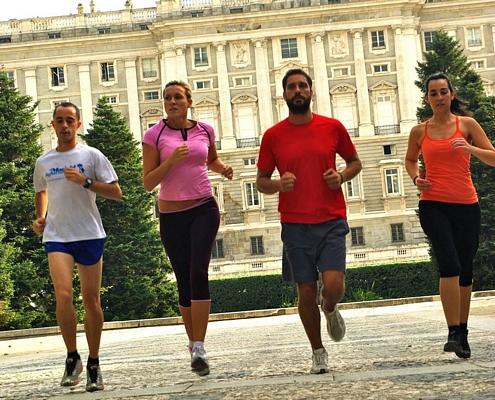 Corriendo por el casco histórico de Madrid