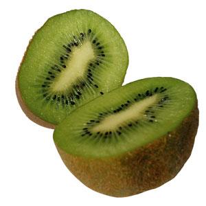 El kiwi, una fruta con corazón