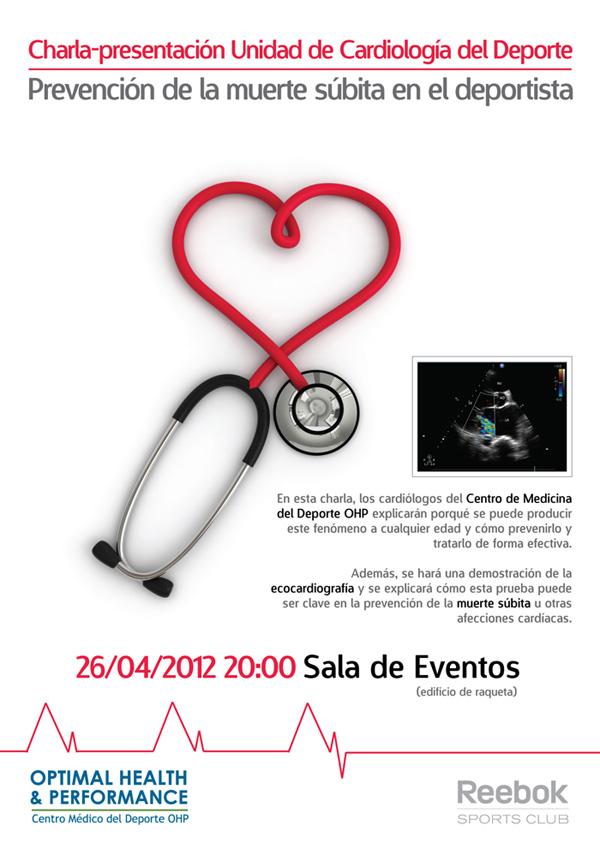 Charla-Presentación de la Unidad de Cardiología del Deporte 'Prevención de la muerte súbita en el deportista'