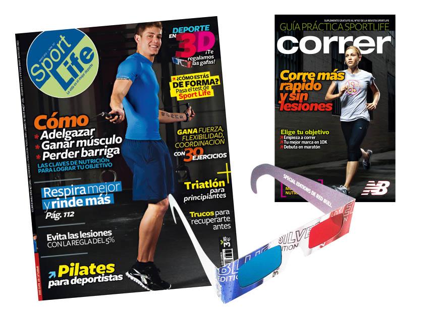 ¡Sport Life en 3D... y con la Guía Práctica de Correr!