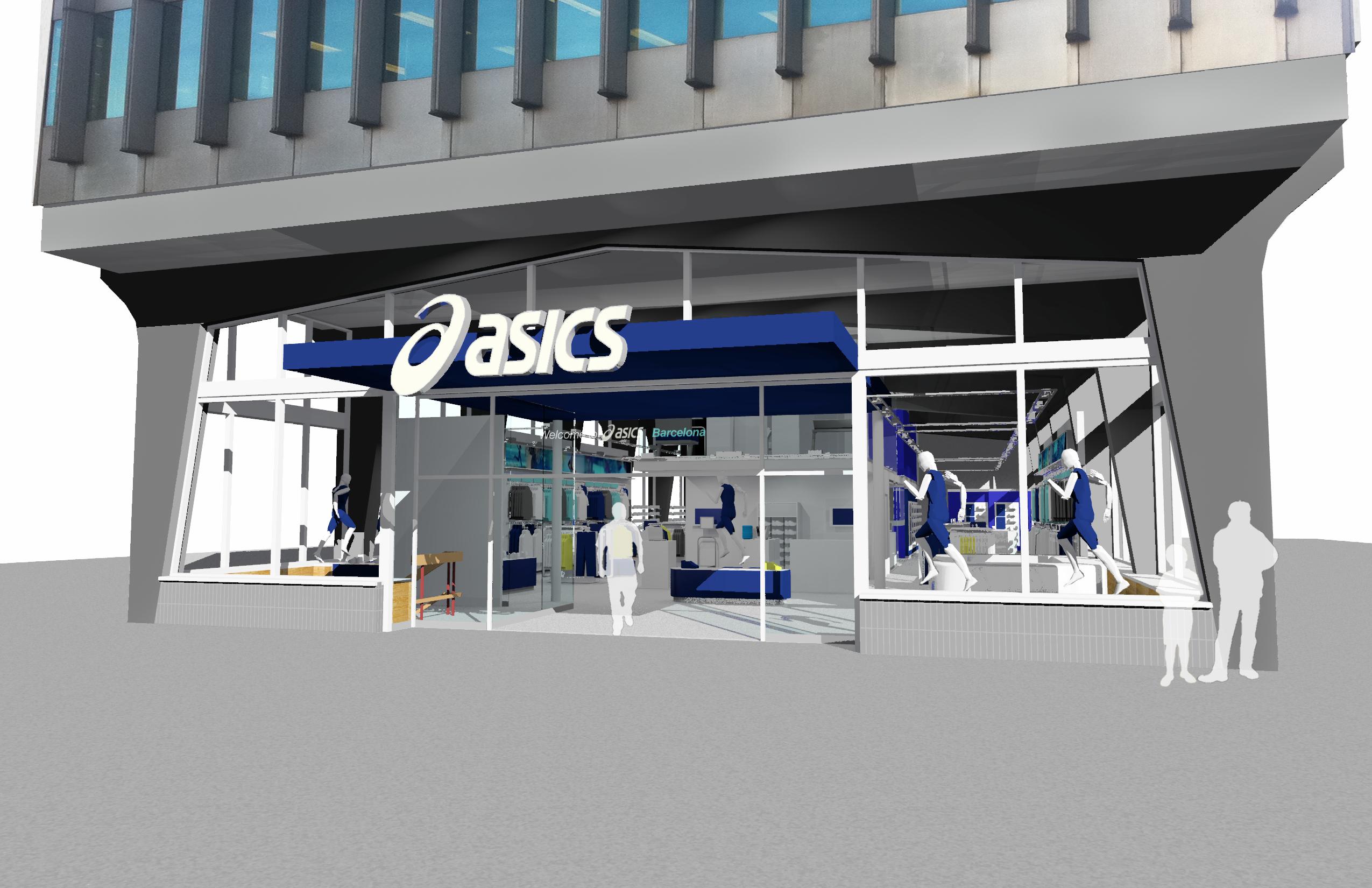 asics abre dos concept store en Madrid y Barcelona