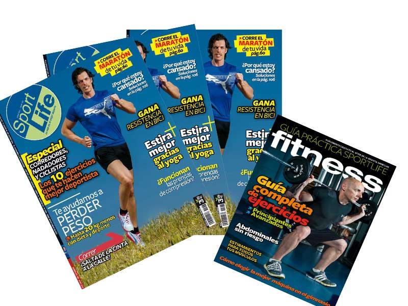 ¡Ya está a la venta Sport Life con la Guía de Entrenamiento!