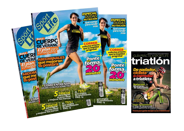 Ya está la venta Sport Life de julio con la Guía Práctica de Triatlón