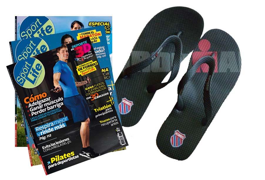 Llévate las chanclas Ironman con tu revista Sport Life