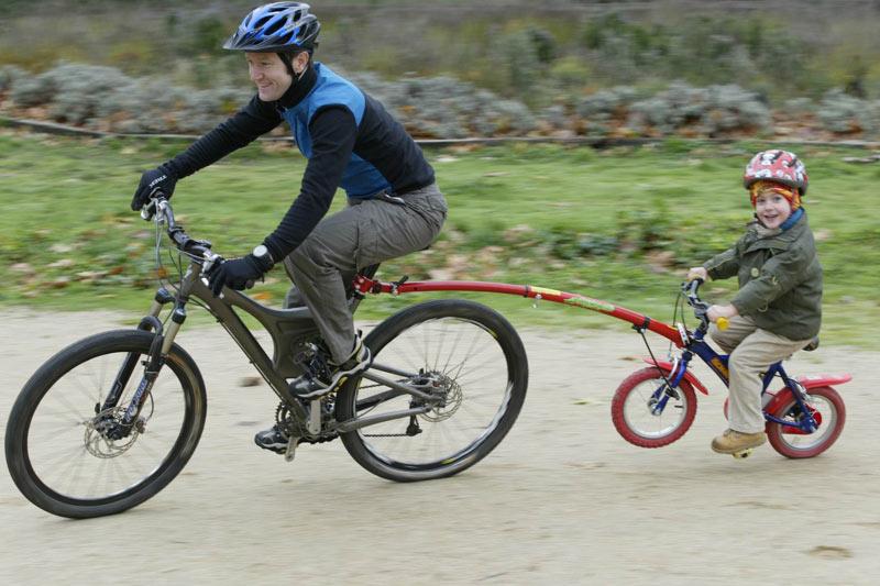 Remolcadores para bicis de niños