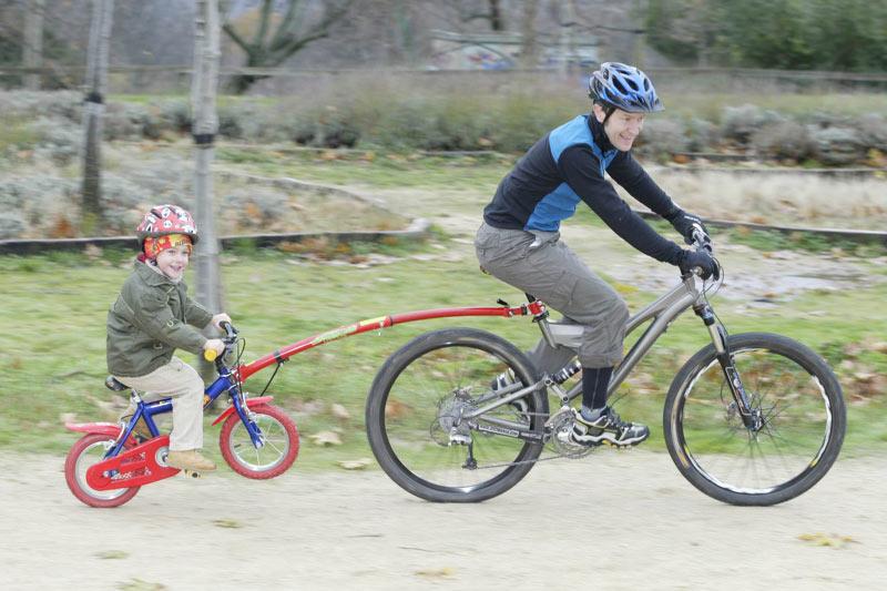 Consejos para iniciar a los niños en bicicleta