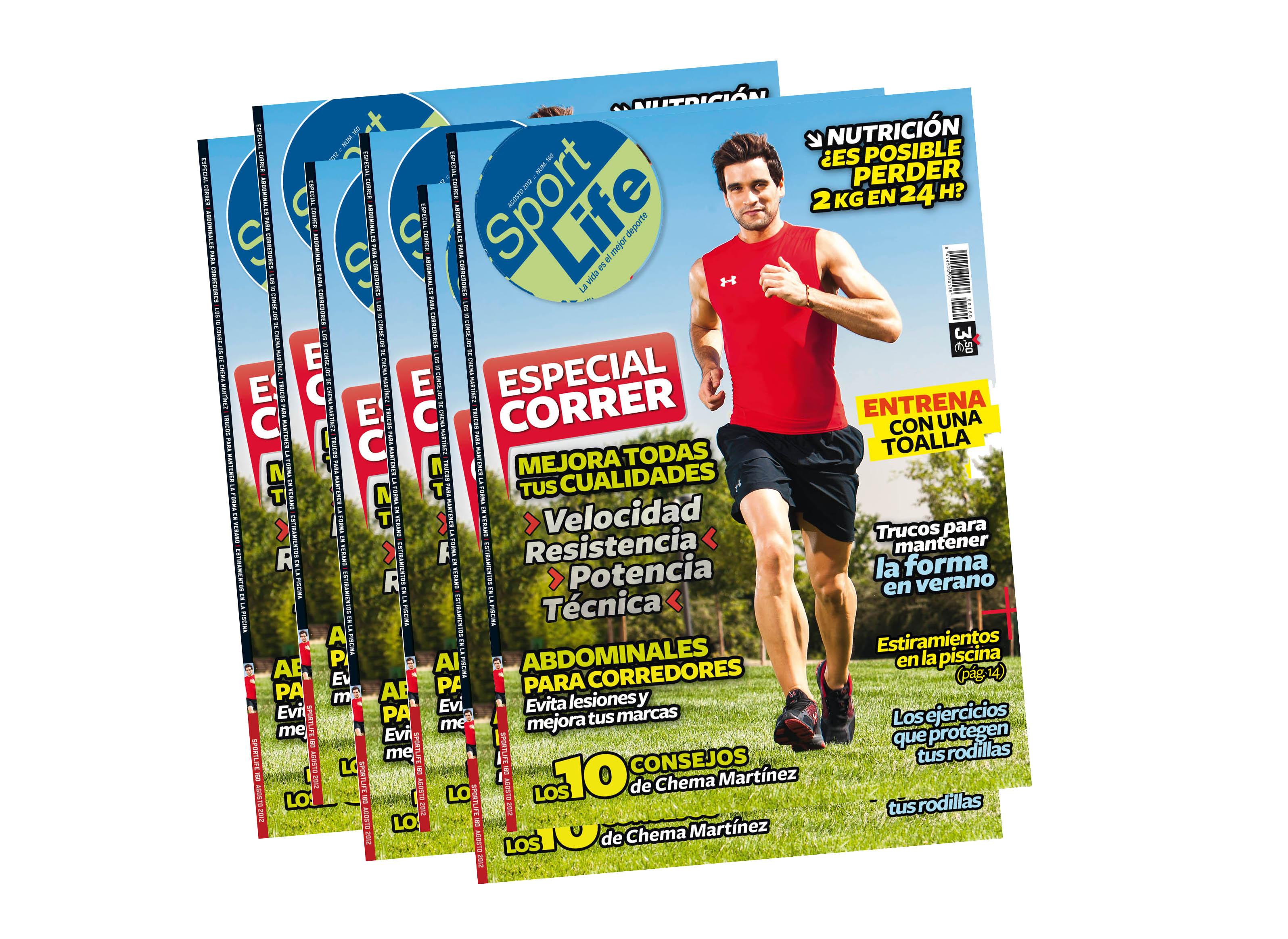 Sport Life de agosto ya a la venta, y con contenido extra de correr