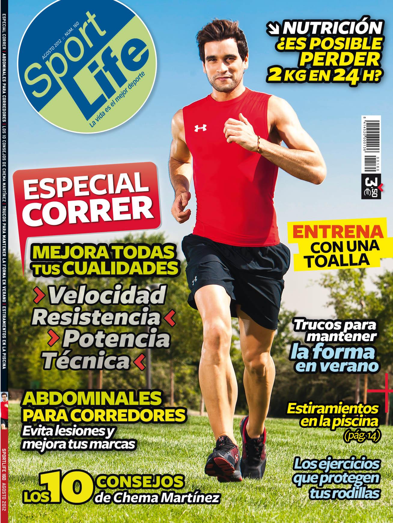 Sumario Sport Life 160 agosto 2012