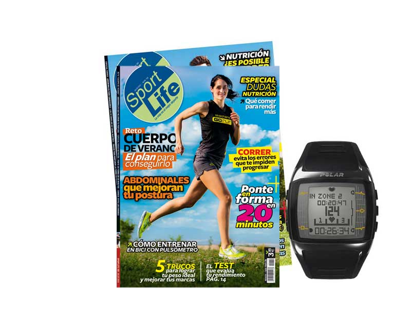 El pulsómetro que te entrena + un año de Sport Life por solo 120 €