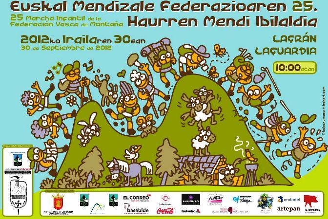 XXV Marcha Montañera para familias en Laguardia