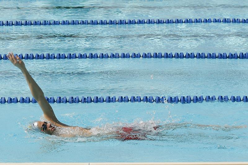 Técnica de natación: espalda