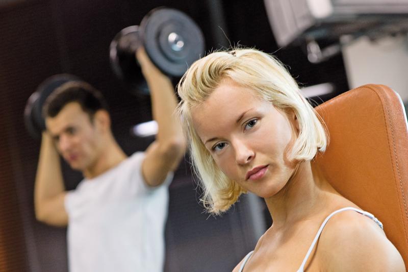 Pierde peso musculando