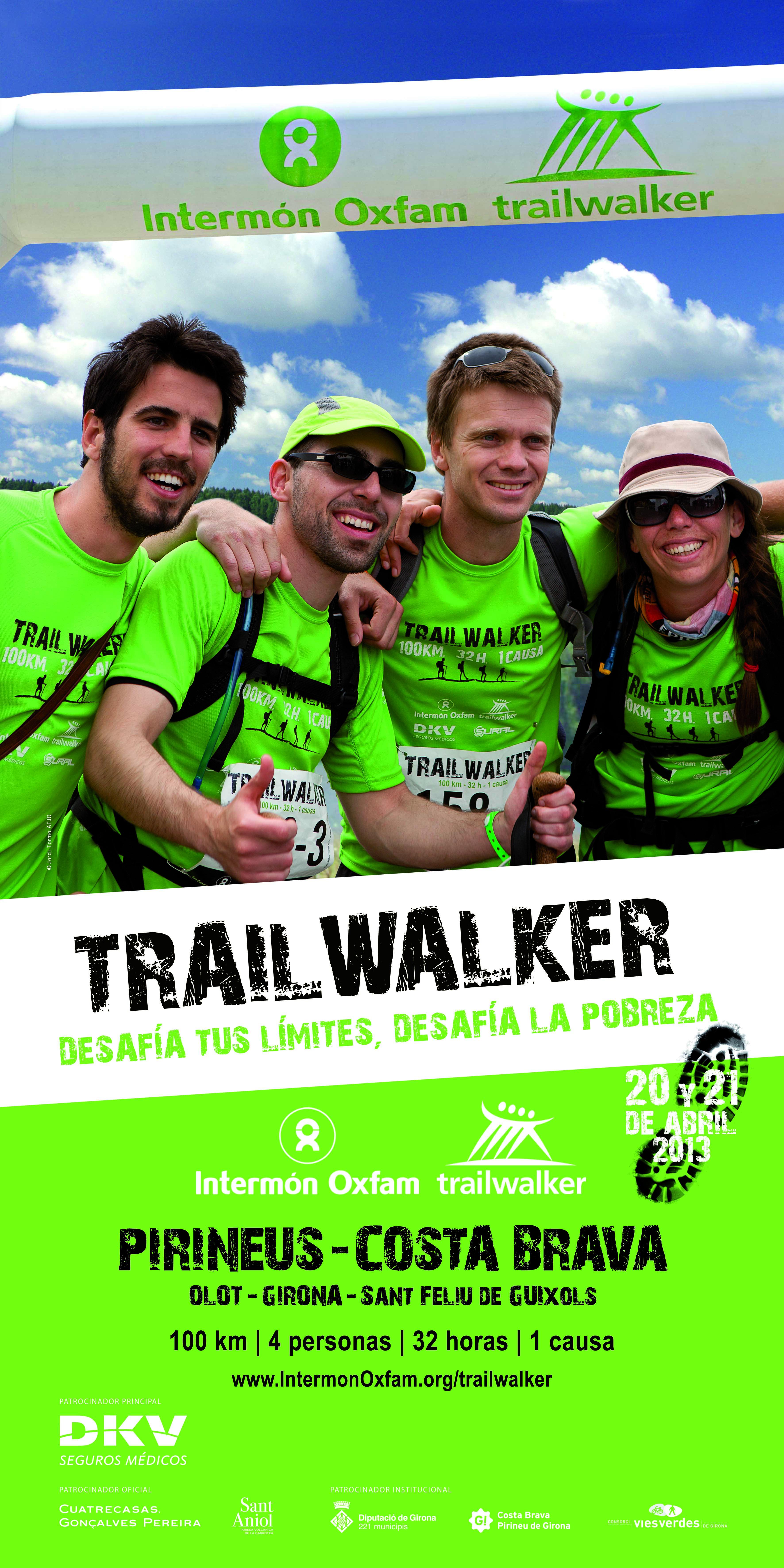 Presentación de la tercera Marcha Intermon Oxfam Trailwalker