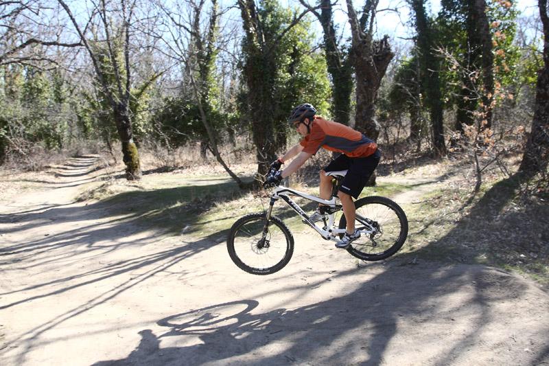 Mountainbike: Los saltos