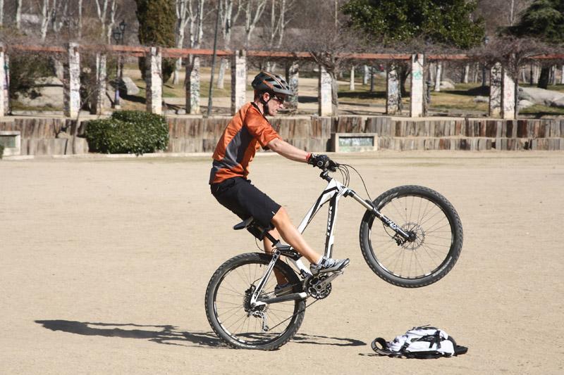 Técnica de mountain bike: Aprovecha tu parque