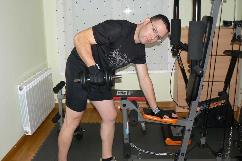 Santiago Alonso: mountainbike y tonificación para perder peso