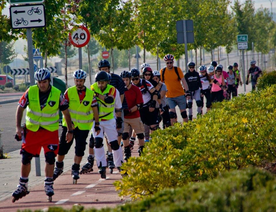 Madridpatina organiza La Ruta de las Luces 2012