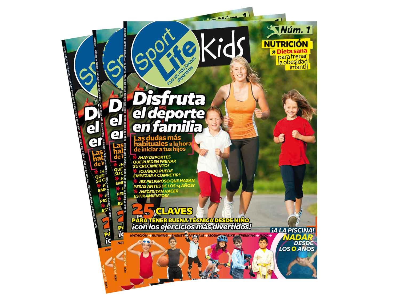 Sport Life Kids, la primera revistas para familias deportistas