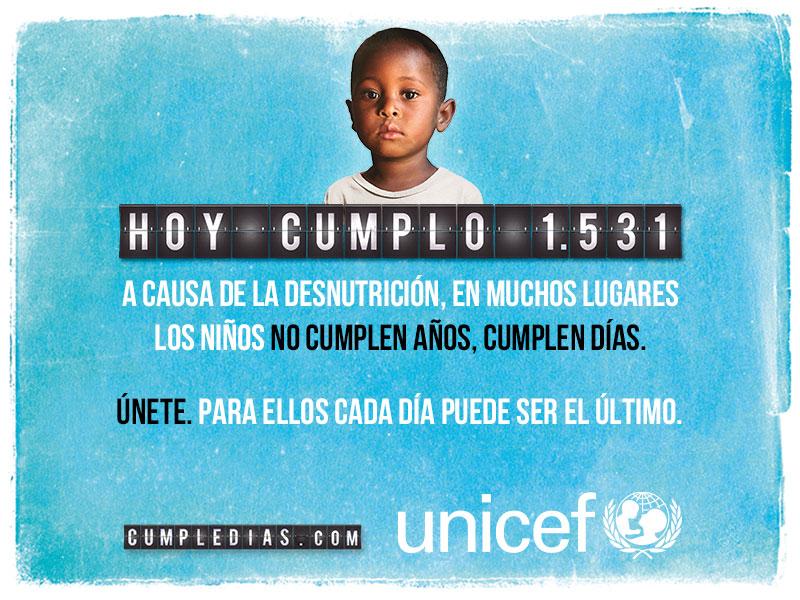 En algunos países los niños no cumplen años, cumplen días...