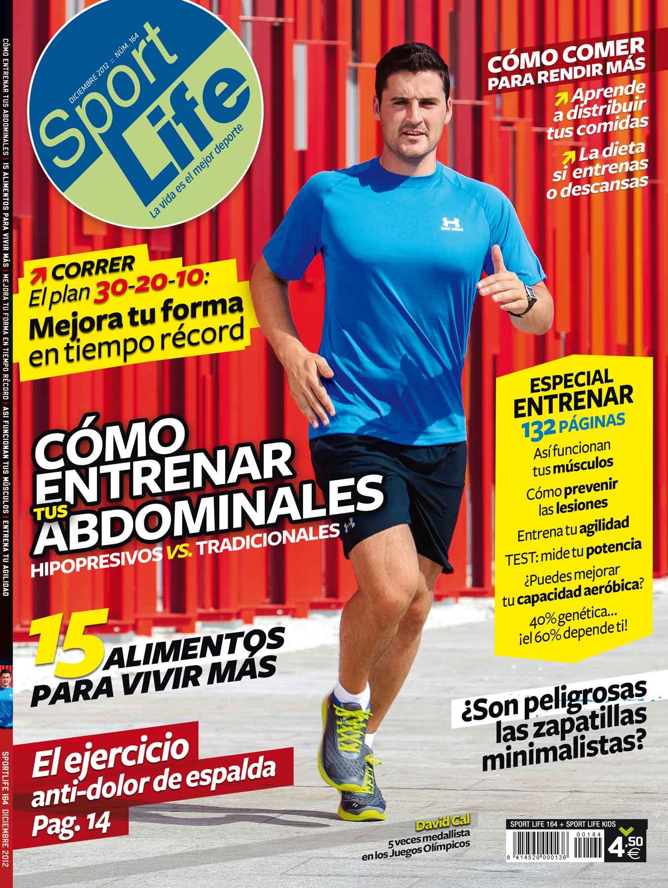Sumario Sport Life 164 diciembre 2012