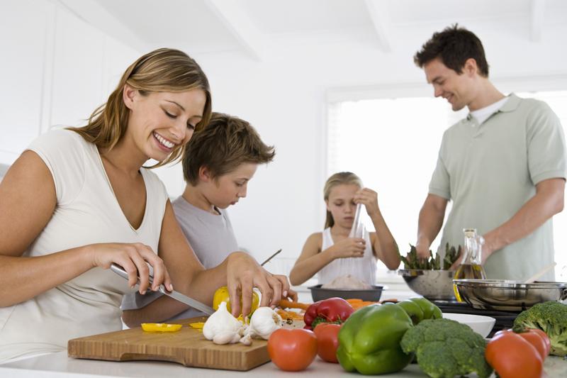 Las reglas de la buena mesa en familia