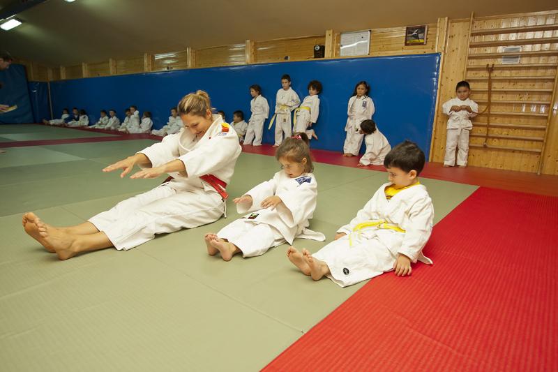 Iniciación al judo para niños