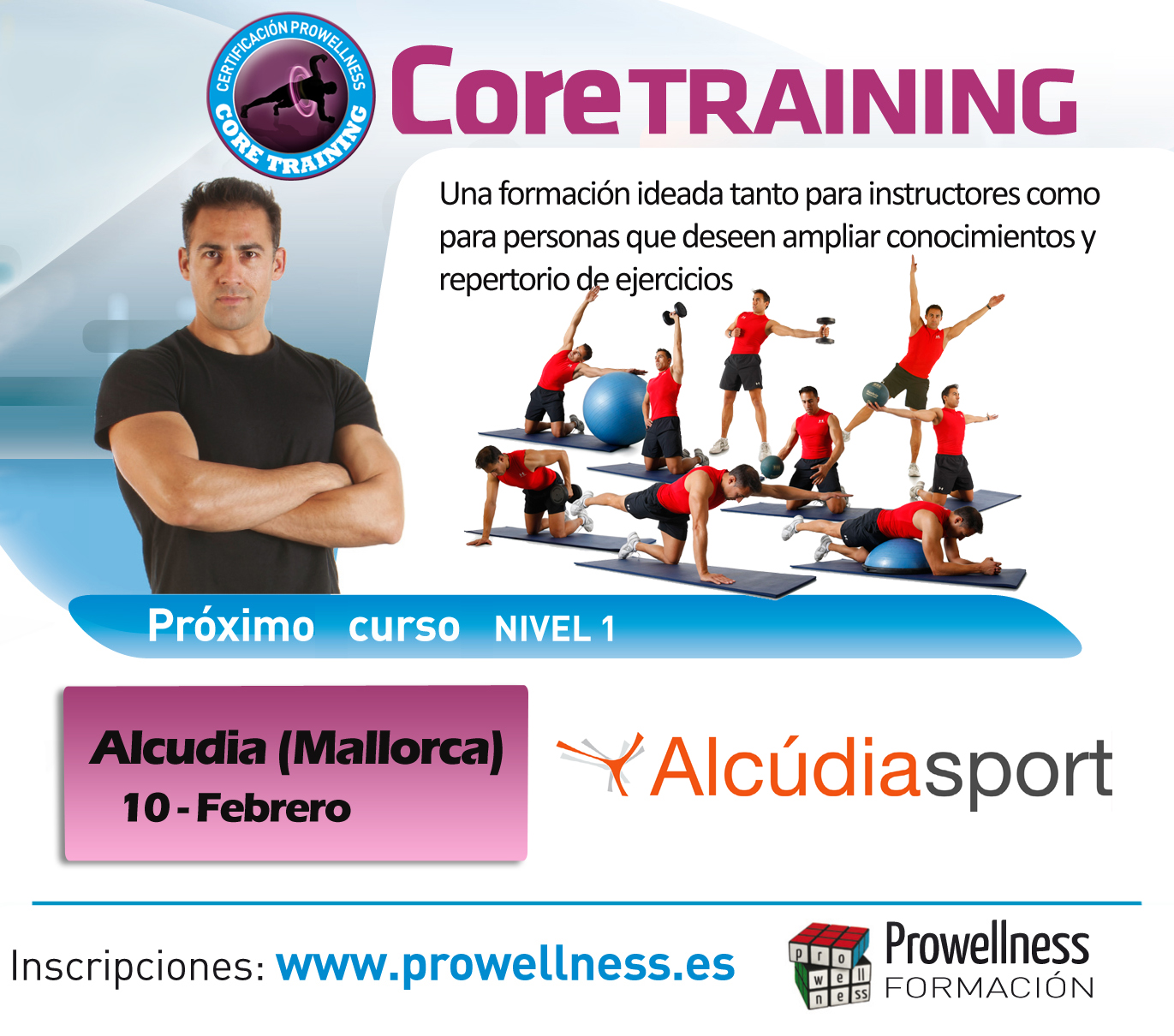 Certificación Core Training - Mallorca