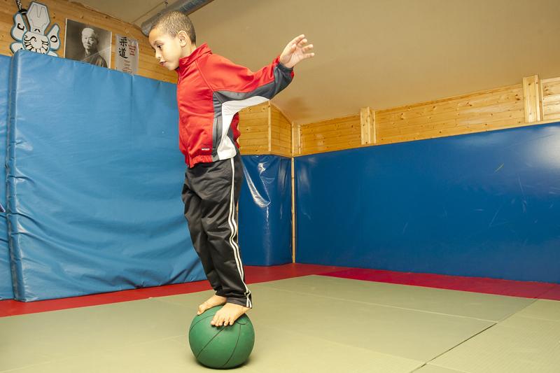Circuito de fitness para niños de 5 a 7 años