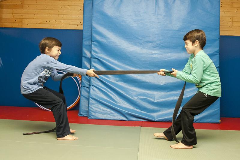 Circuito de fitness para niños de 8 a 10 años
