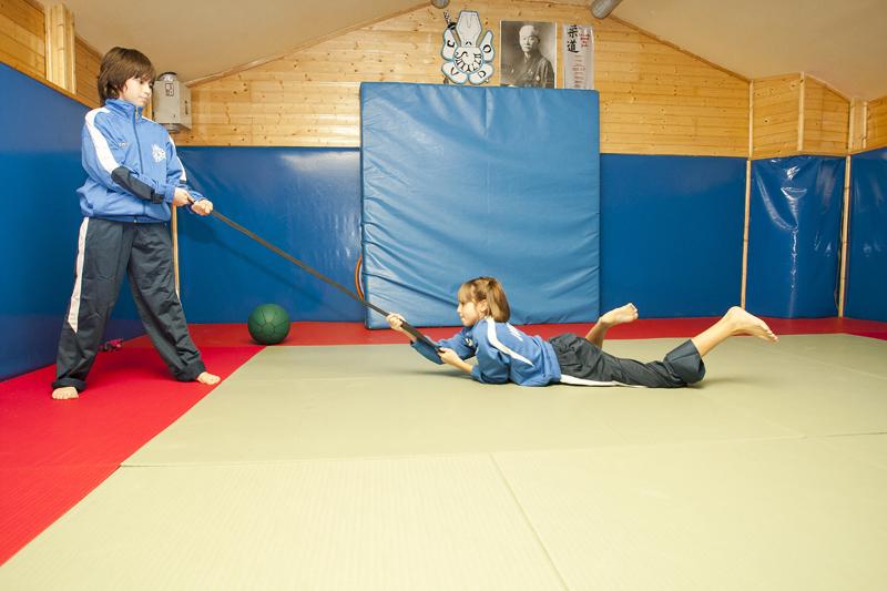 Circuito de fitness para niños de 10 a 12 años