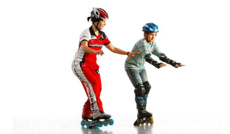 Iniciación al patinaje para niños