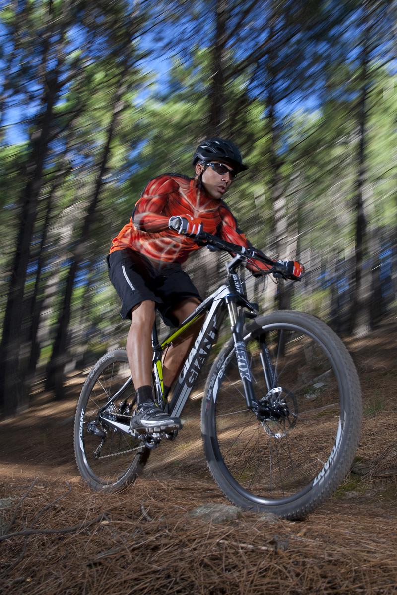 El gesto deportivo: decenso en bici