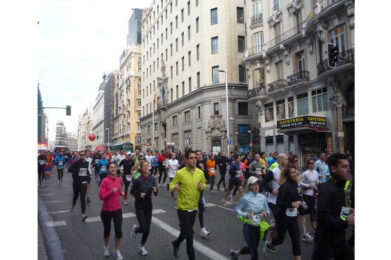 Apúntate a la Carrera de los Bomberos: 10 kilómetros por todo el centro de Madrid