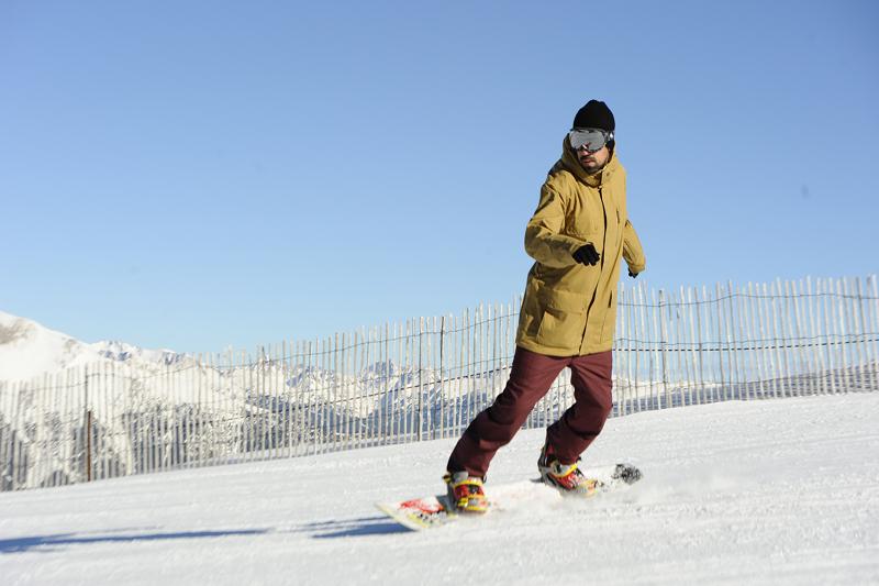 Snowboard: viaje Frontside y Backside