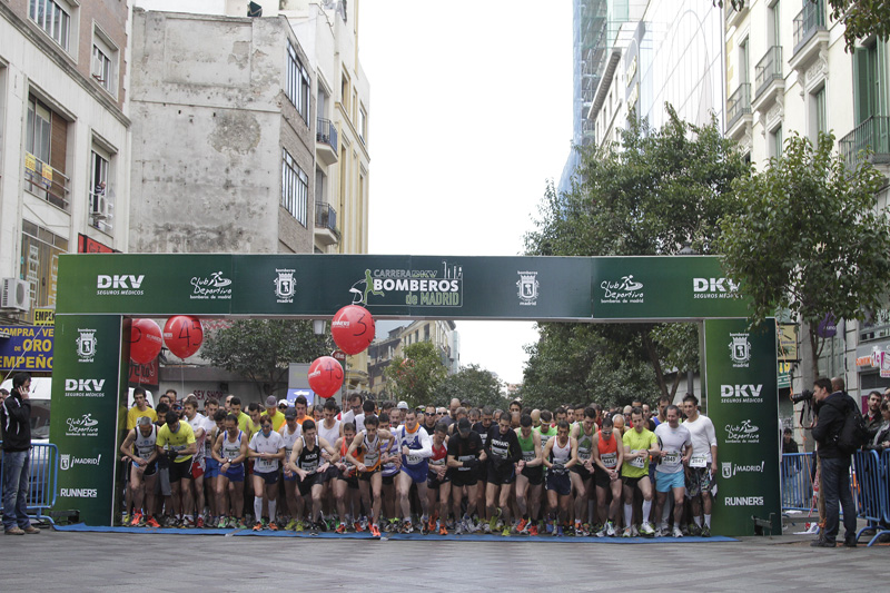 Oferta con doble regalo para la Carrera DKV Bomberos de Madrid