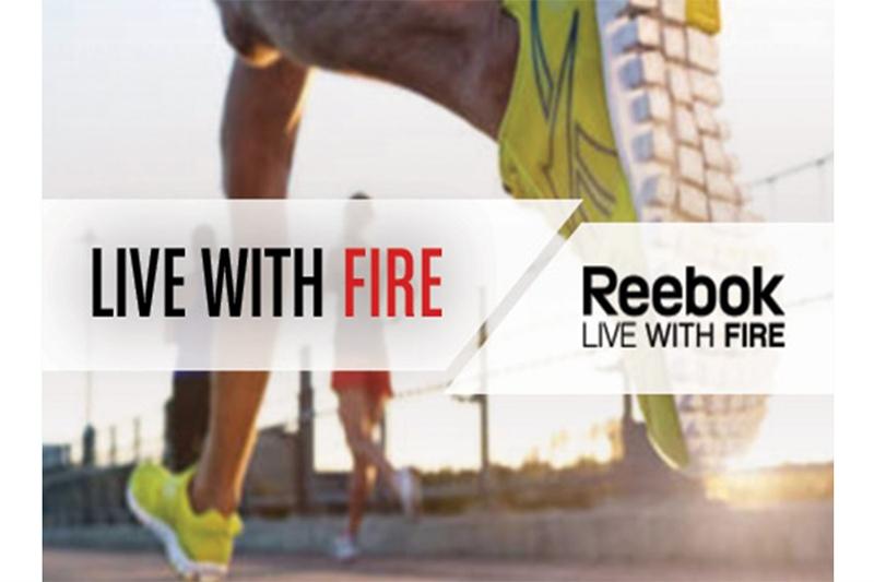 """Reebok lanza su nueva campaña: """"Live With Fire"""""""