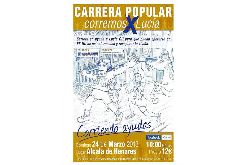"""Carrera Popular """"Corremos por Lucía"""" 2013"""