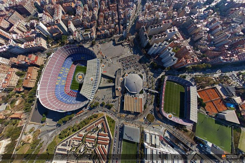 El 19 de marzo ningún padre puede quedarse sin el virtual FCBarcelona VirtualTour