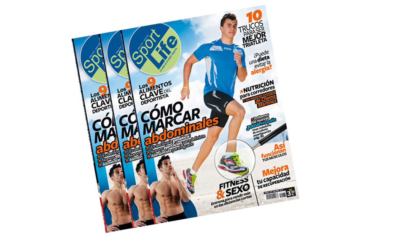 Ya está a la venta el número de abril de Sport Life