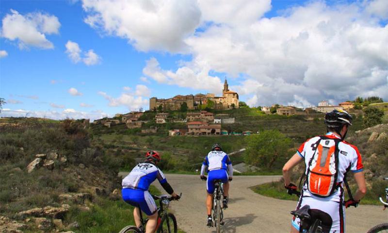 La IV edición de la travesía BTT Enoaventura discurrirá por Rioja Alavesa el próximo 5 de mayo