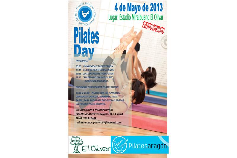 Celebra el Día Internacional del Pilates el próximo 5 de mayo en Zaragoza