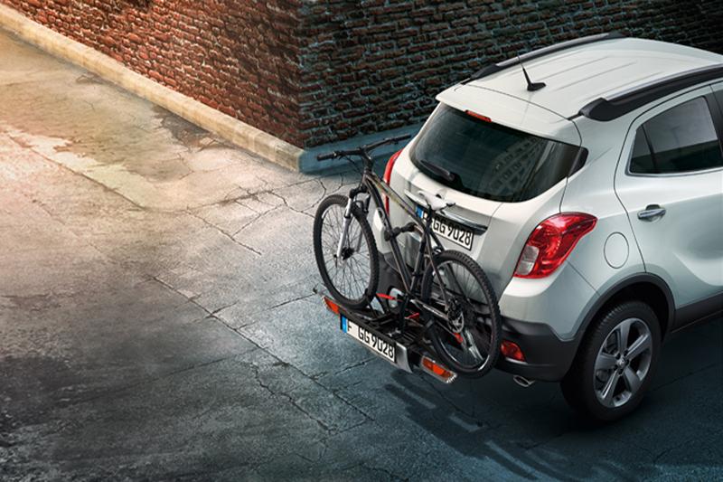Lleva tu bicicleta a tus viajes con el sistema Opel Flexfix