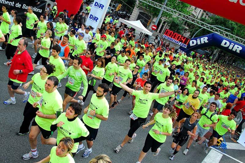 No te pierdas la primera carrera popular que recorrerá la Diagonal de Barcelona